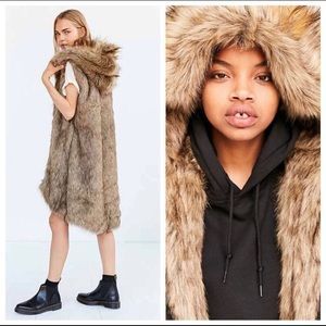 Urban Outfitters Jackets & Coats - Authentic members only faux fur lined parka xs